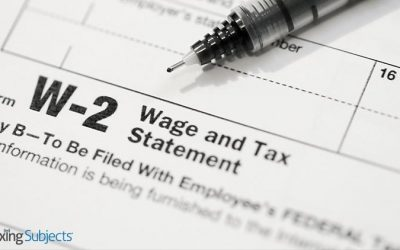 2021 Deadline for W-2s Closer Than You Think